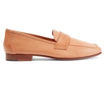 Classic Loafers Aus Leder - Camel