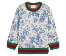 Sweatshirt aus bondiertem Baumwoll-Jersey