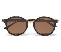 Advisory Sonnenbrille Mit Cat-eye-rahmen Aus Azetat Und Metall - Schwarz