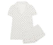 Sleep Chic Bedruckter Pyjama Aus Jersey -