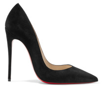 So Kate 120 Pumps Aus Veloursleder -