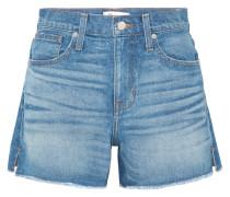 The Vintage Perfect Ausgefranste Jeansshorts