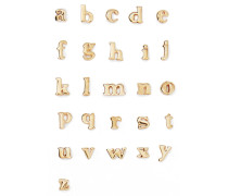 Alphabet Ohrring Aus 14 Karat