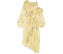 Sheila Kleid aus Devoré-satin aus einer Seidenmischung