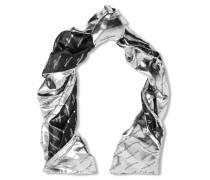 Schal Aus Metallic-jacquard Aus Einer Seidenmischung -