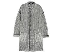 Oversized-cardigan Aus Bouclé-strick -