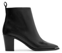 Loma Ankle Boots Aus Leder - Schwarz