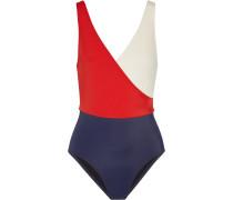The Ballerina Badeanzug In Colour-block-optik -