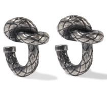 Oxidierte Silberfarbene Ohrringe -
