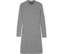 Cityblock Geripptes Minikleid Aus Stretch-strick - Grau