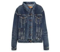 Asymmetrische Jeansjacke -