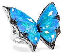 Fly By Night Ring aus 18 Karat  mit Mehreren Steinen