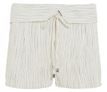 Marina gewebte Shorts mit Streifen