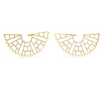 Zardozi Ohrringe Aus 18 Karat  Mit Diamanten