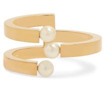 Darcey Vergoldete Armspange Mit Swarovski-perlen