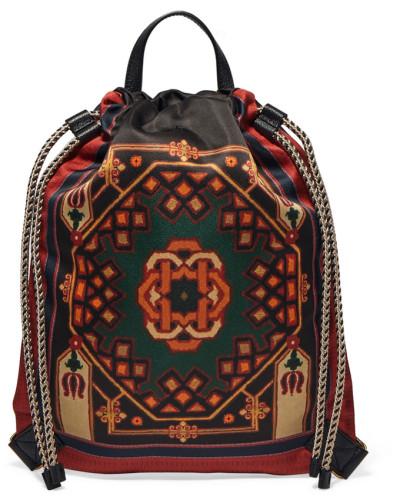 Bedruckter Rucksack aus Shell