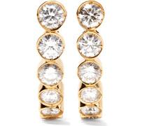 Boucle Ensemble Ohrringe Aus 18 Karat  Mit Diamanten