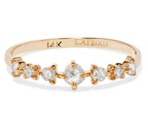 Snow Queen Ring aus 14 Karat  mit Diamanten