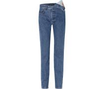 Asymmetrische Boyfriend-jeans