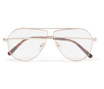 farbene Pilotenbrille