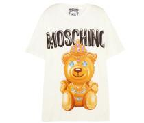 Bedrucktes T-shirt Aus Baumwolle - Weiß