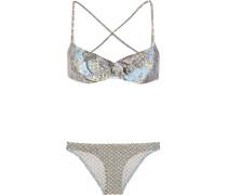 Caravan Bedruckter Bikini Mit Rüschen -