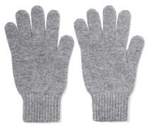Handschuhe Aus Kaschmir - Grau