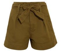Oscar Shorts Aus Baumwoll-twill -