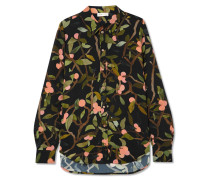 Maxwell Bedrucktes Hemd aus Georgette -