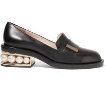 Casati Loafers aus Leder mit Verzierungen