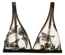 Fleur Interdit Bestickter Triangel-bh aus Stretch-tüll -