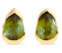 Bloom Ohrringe Aus 18 Karat  Mit Diamanten Und Turmalinen