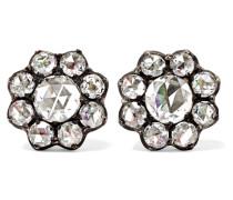 Collection Ohrringe aus 18 Karat Gold mit Diamanten -