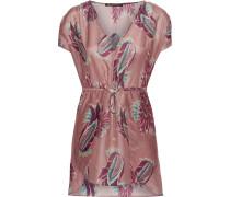 Agata Minikleid Aus Einer Bedruckten Baumwoll-seidenmischung -
