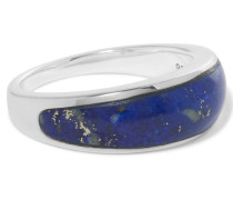 Ring Aus Silber Mit Lapislazuli - Blau