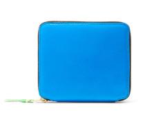 Super Fluo Portemonnaie aus Neonfarbenem Leder -