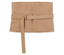 Taillengürtel aus Gesteppter Baumwolle -