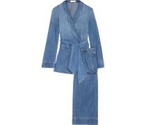 Lafayette Pyjama Aus Baumwoll-chambray -