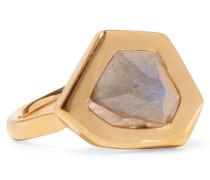 Petra vergoldeter Ring mit Labradorit