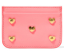 Rosebery Verziertes Kartenetui Aus Leder - Pink