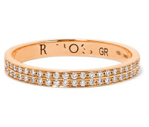 Berbère Ring Aus 18 Karat  Mit Diamanten