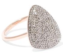 Nura Ring Aus -vermeil Mit Diamanten