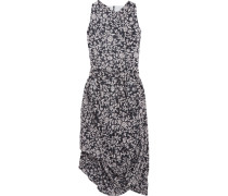 Eight Drapiertes Kleid Aus Baumwoll-voile Mit Print -