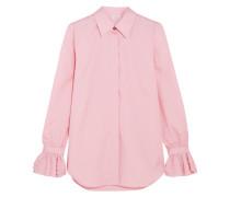 Ealiette Hemd Aus Baumwolle Mit Kristallverzierung - Pink