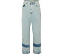 Kim Hoch Sitzende Jeans Mit Geradem Bein -