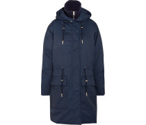 Alston Tech Daunenparka Aus Twill - Navy