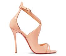 Malefissima 100 Sandalen Aus Lackleder -