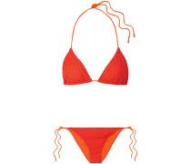 Mare Pizzo Bikini Aus Strick In Häkeloptik -