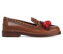 Verzierte Loafers Aus Leder - Braun