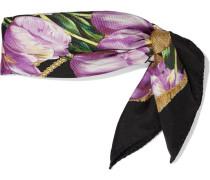 Halstuch mit Tulpenprint